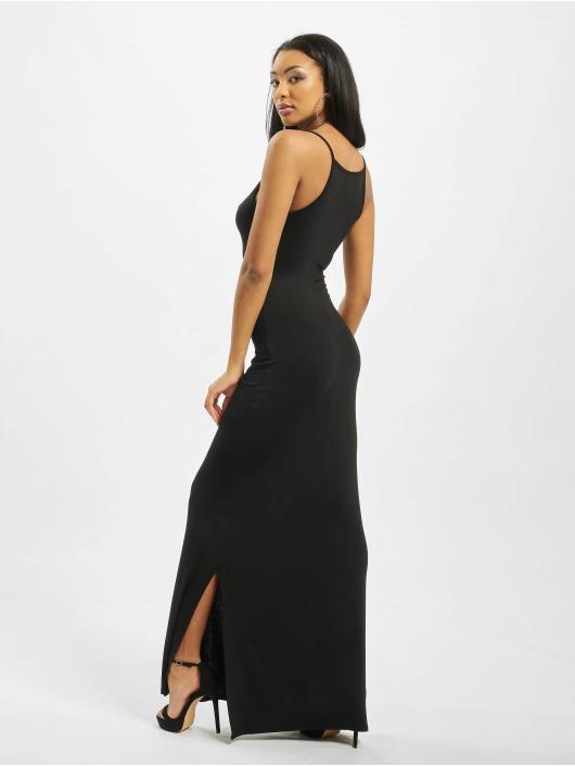 Missguided Šaty Tall Basic High Neck Maxi čern