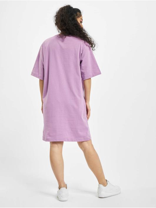 Missguided Šaty Oversized T-Shirt SS Dragon fialová