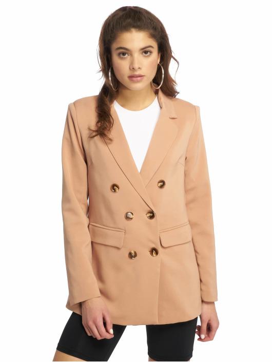 Missguided Демисезонная куртка Horn коричневый