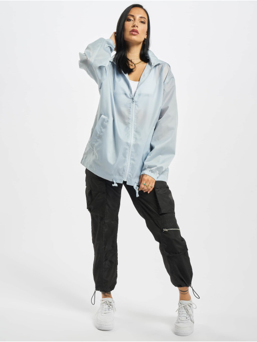Missguided Демисезонная куртка Bumbag Pac A Mac синий