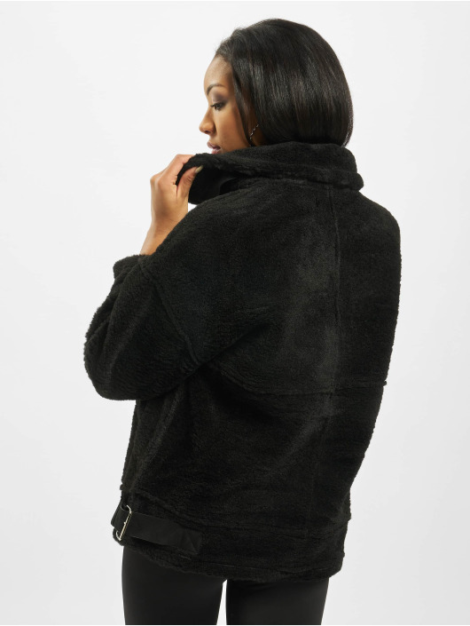 Missguided Демисезонная куртка Ultimate Oversized Aviator черный