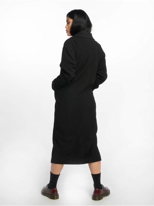 Missguided Пальто Longline черный