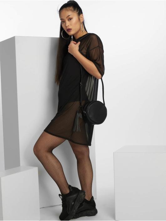 Missguided Платья Oversized Mesh черный