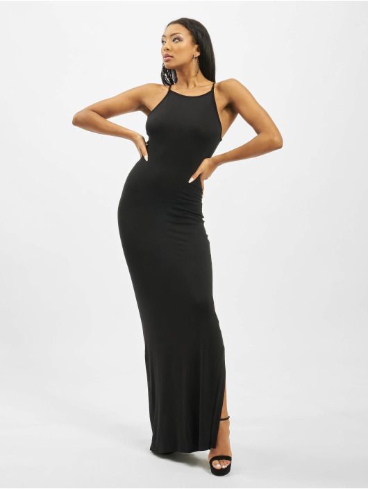 Missguided Платья Tall Basic High Neck Maxi черный