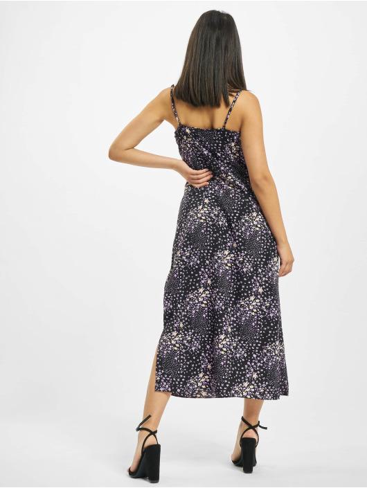 Missguided Платья Cami Cowl Midi Floral черный
