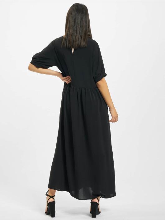 Missguided Платья Puff Sleeve Midi Smock черный
