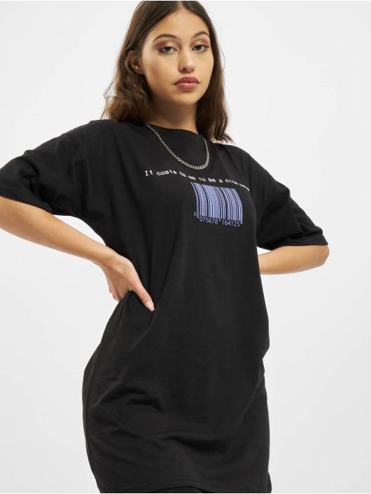 Missguided Платья Oversized Tshirt Short Sleeve Barcode черный