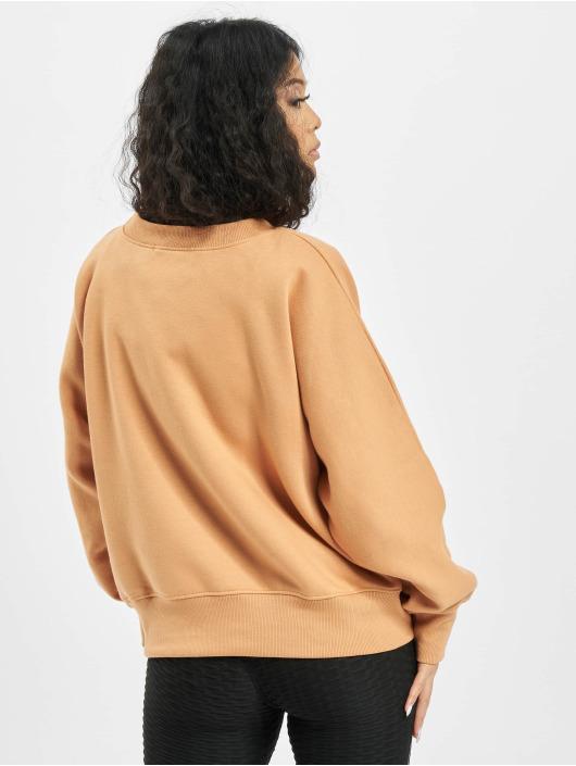 Missguided Пуловер Oversize бежевый