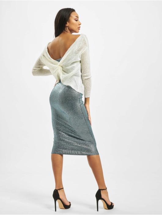 Missguided Пуловер Twist Back белый