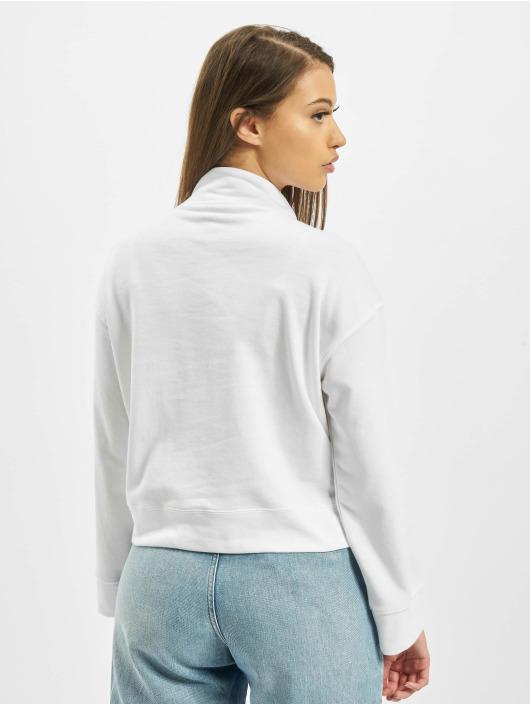 Missguided Пуловер High Neck Tie Detail белый