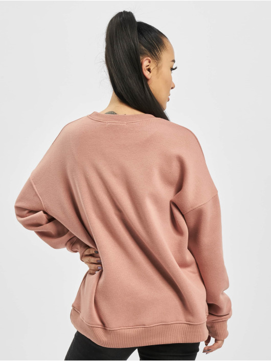 Missguided Пуловер Basic Oversized розовый