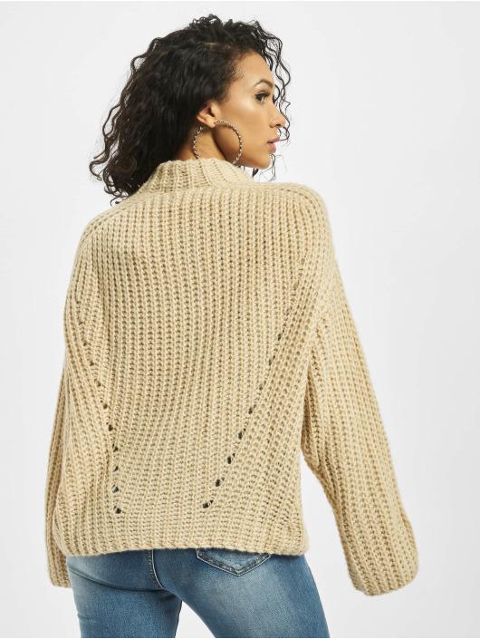 Missguided Пуловер Chunky Grown On Neck серый