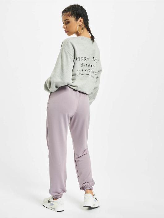 Missguided Пуловер Petite Hidden Hills Graphic серый