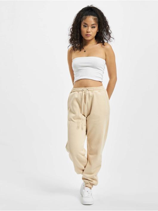 Missguided Спортивные брюки Petite 90s бежевый