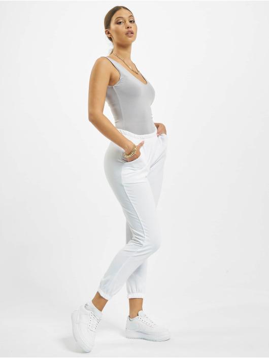 Missguided Спортивные брюки Petite Basic белый