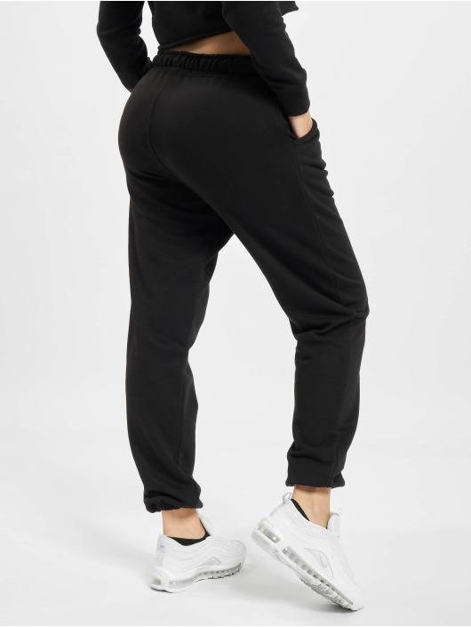Missguided Спортивные брюки 90s Oversized черный