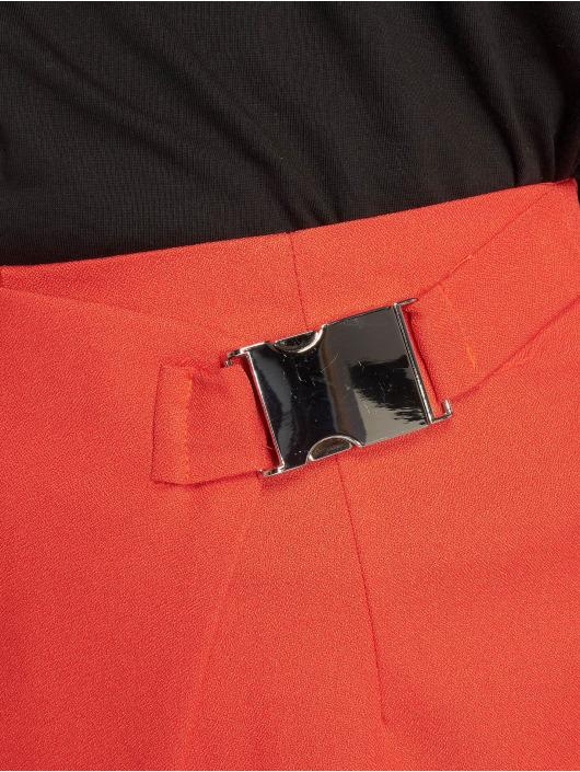 Missguided Шорты Seatbelt Buckle красный