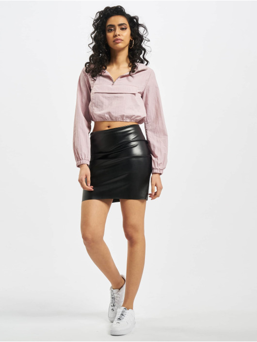 Missguided Юбка Price Point Faux Leather черный