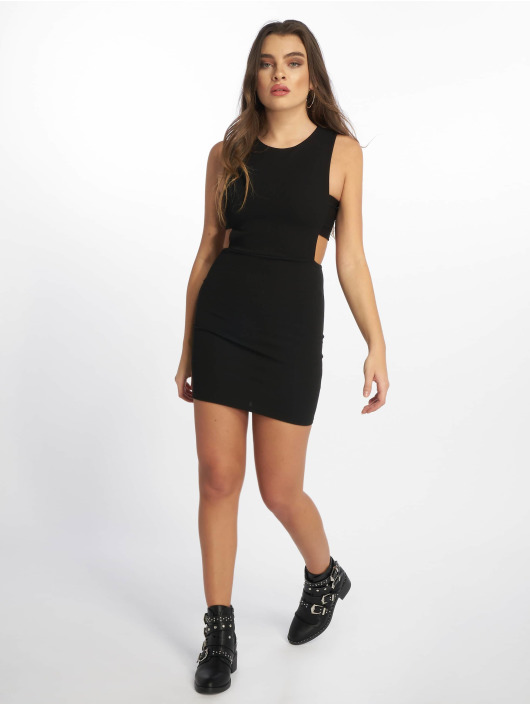 Missguided Abito Sleeveless Cut Out nero