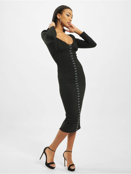 Missguided Abito Hook And Eye nero