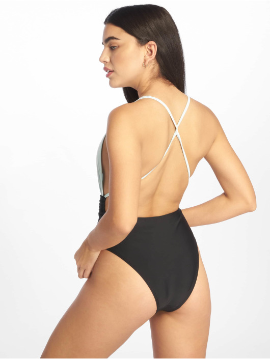 Missguided Badedrakt Cut Out grøn