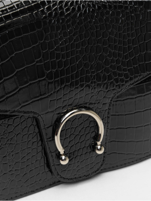 Missguided Bag Croc Detail black