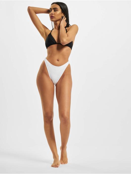 Missguided Bikinis Rib Boomerang weiß