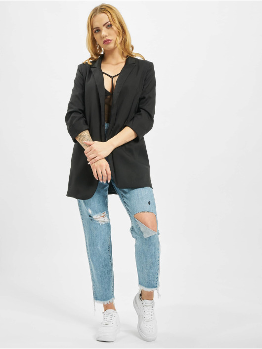 Missguided Blazer Pricepoint black