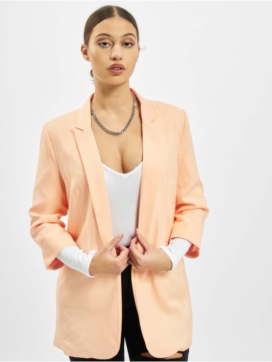 Missguided Blazer femme Co Ord Basic Boyfriend orange