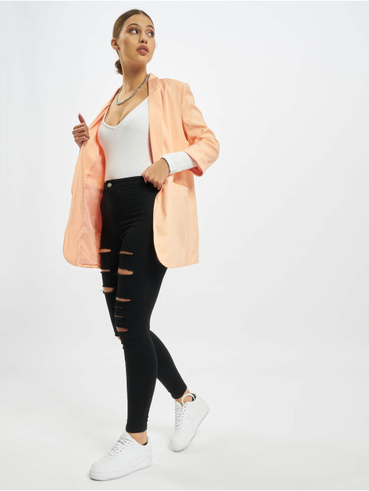 Missguided Blazers Co Ord Basic Boyfriend orange