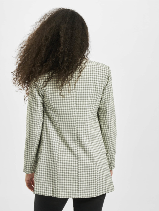 Missguided Blezer Checked szary
