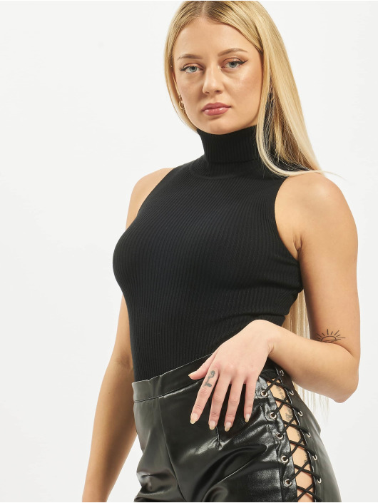 Missguided Body Roll Neck Sleeveless èierna