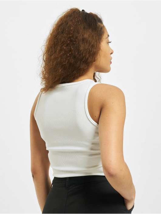 Missguided Body Petite Ribbed blanc