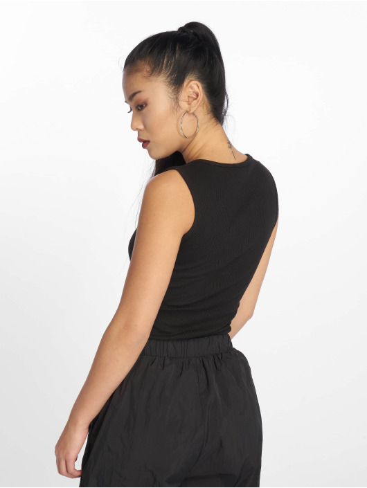 Missguided Body Button Front czarny