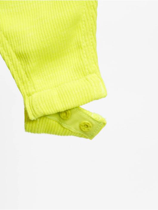 Missguided Body Zip Front Scoop Neck LS groen