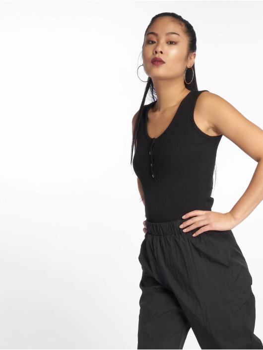 Missguided Body Button Front schwarz