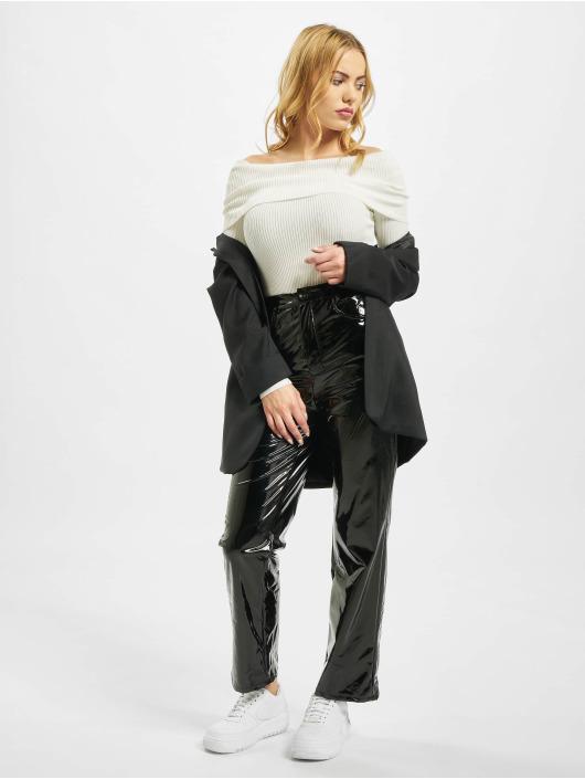 Missguided Body Extreme Fold Over Bardot vit