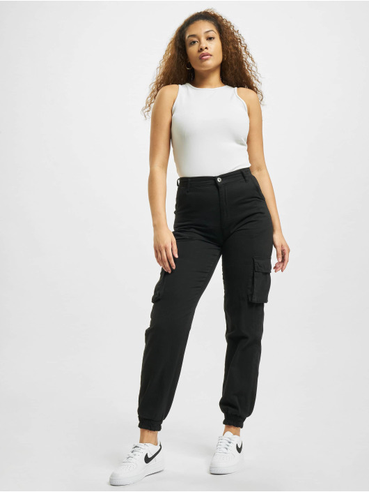 Missguided Body Petite Ribbed weiß