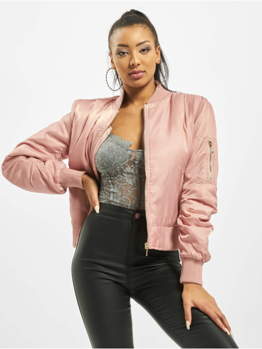 Missguided Bomberjack Ultimate MA1 rose