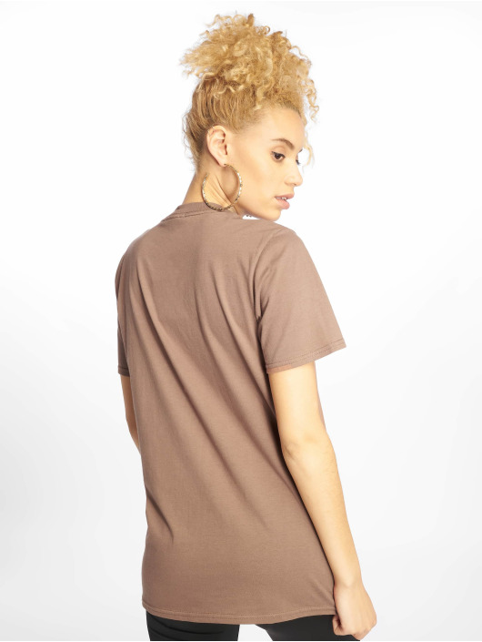 Missguided Camiseta Michigan Leopard Print marrón