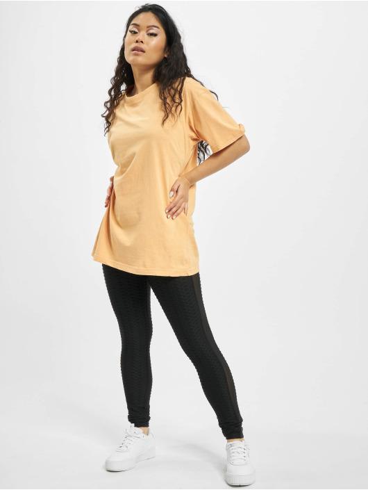 Missguided Camiseta Washed Oversize naranja
