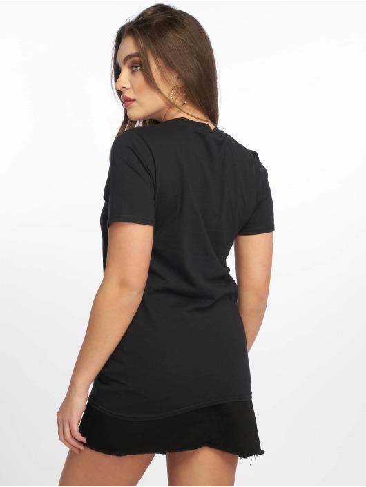 Missguided Camiseta Rainbow State Graphic negro