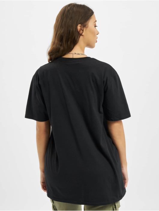 Missguided Camiseta Shooting Hoops Graphic Short Sleeve Oversized negro