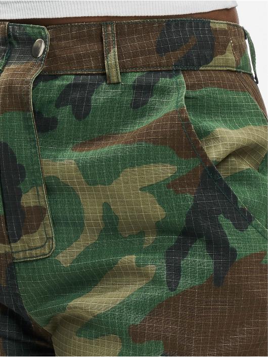 Missguided Cargo Premium Camo Printed khaki