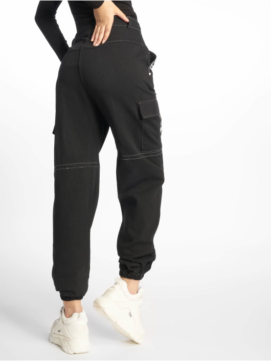 Missguided Cargo Mono Sports Tape Cargo negro