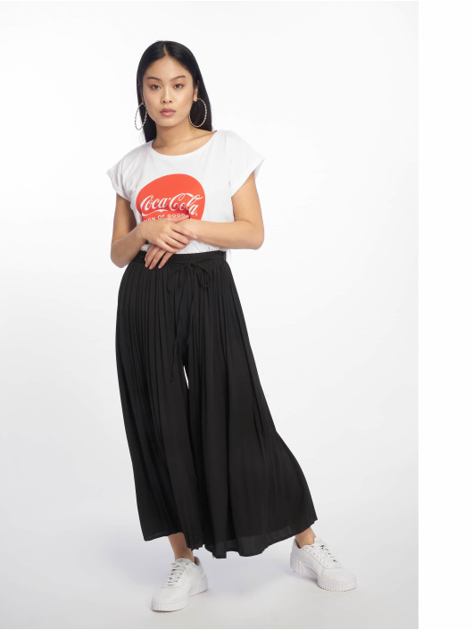 Missguided Cargo Nohavice Pleated èierna