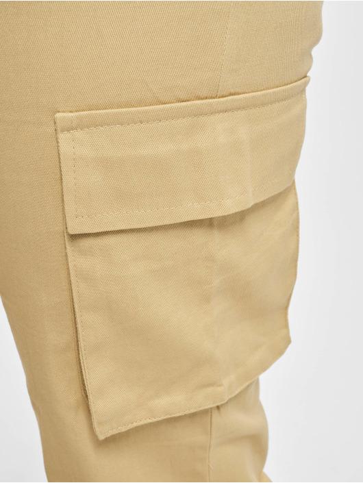Missguided Cargo pants Plain beige