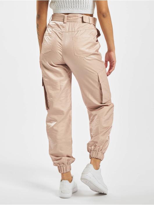 Missguided Cargo pants Tortoise Shell Belt rosa