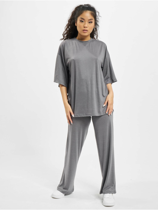 Missguided Chándal Coord Jersey gris