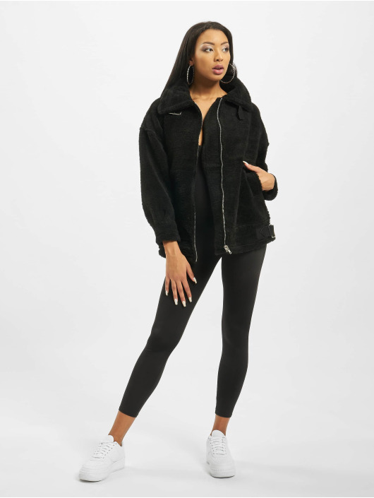 Missguided Chaqueta de entretiempo Ultimate Oversized Aviator negro